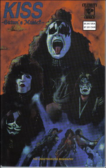 KISS: Satan's Music 2-A by Celebrity Comics
