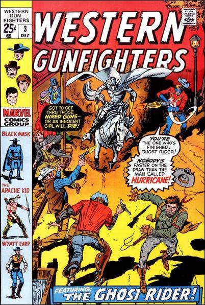 Western Gunfighters (1970) 3-A by Marvel