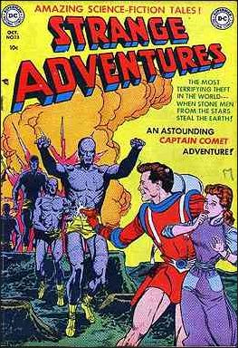 Strange Adventures (1950) 13-A by DC