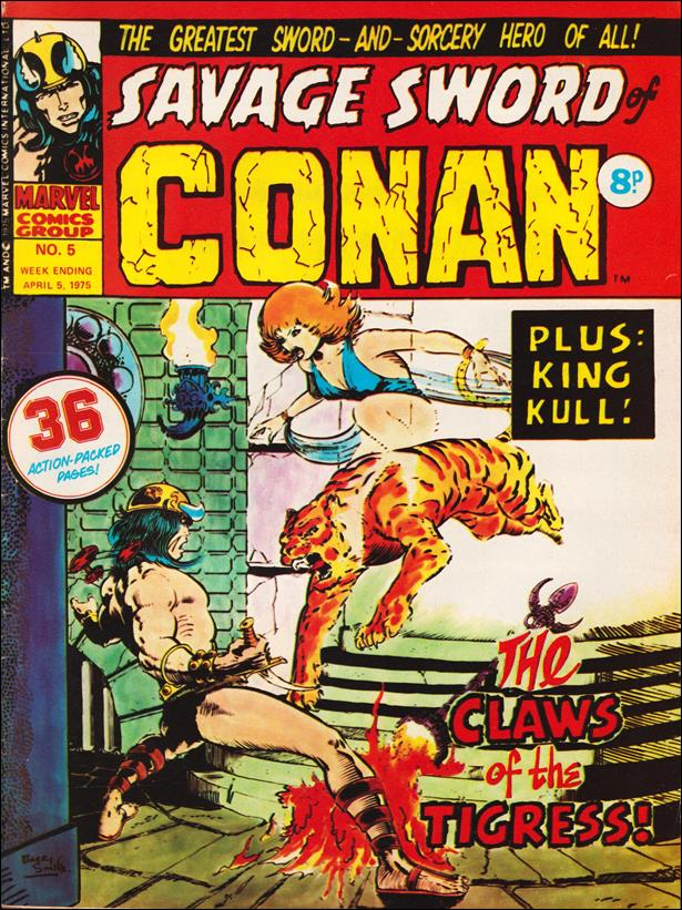 Savage Sword of Conan (UK) (1975) 5-A by Marvel UK