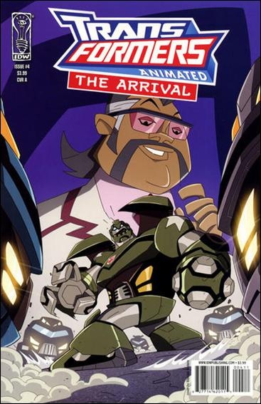 Transformers Animated: The Arrival 4-A by IDW