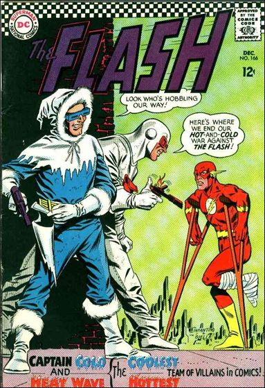 Flash (1959) 166-A by DC