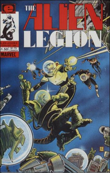 Alien Legion (1984) 6-A by Epic