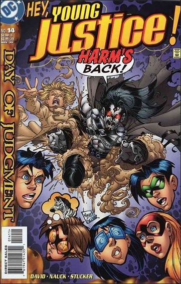 Young Justice (1998) 14-A by DC