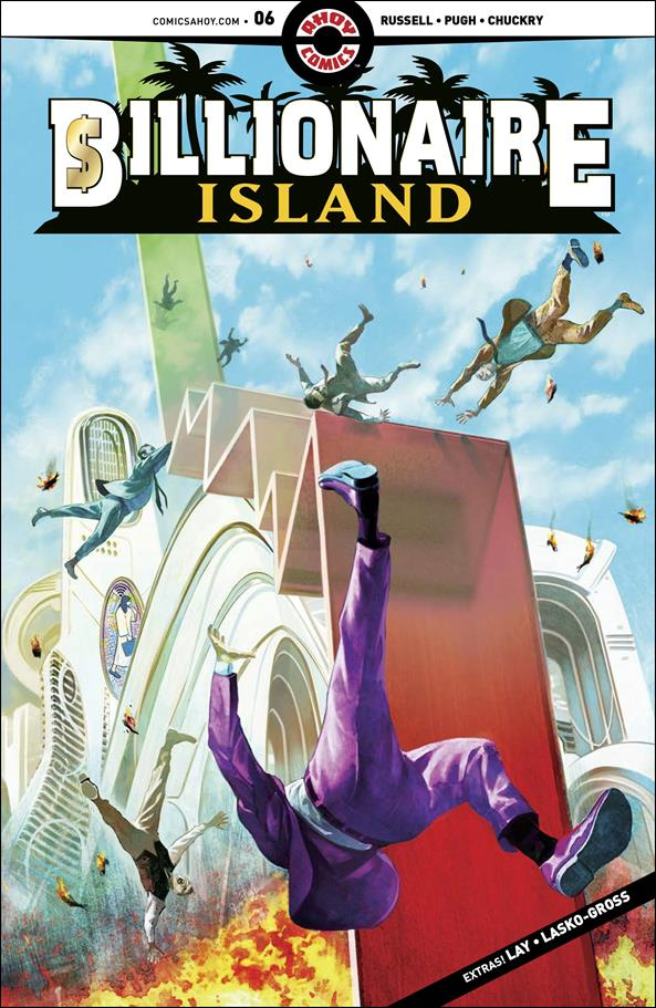 Billionaire Island 6-A by Ahoy Comics