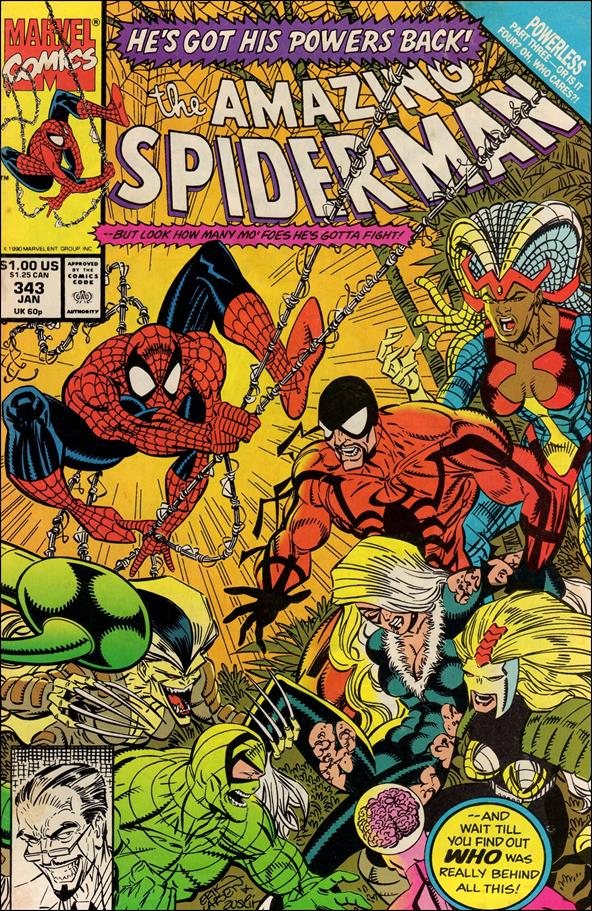 Amazing Spider-Man (1963) 343-A by Marvel