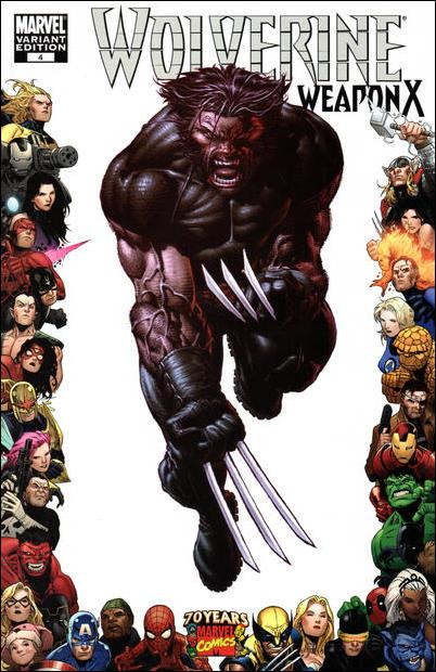 Wolverine: Weapon X 4-C by Marvel
