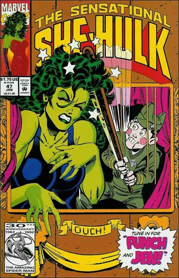 Sensational She-Hulk 47-A by Marvel