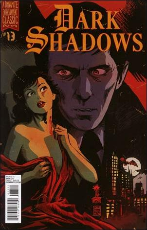 Dark Shadows (2011) 13-A by Dynamite Entertainment
