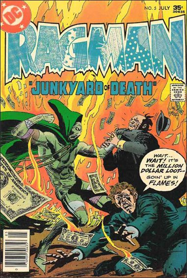 Ragman (1976) 5-A by DC