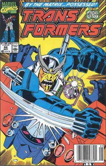 Transformers (1984) 66-A by Marvel