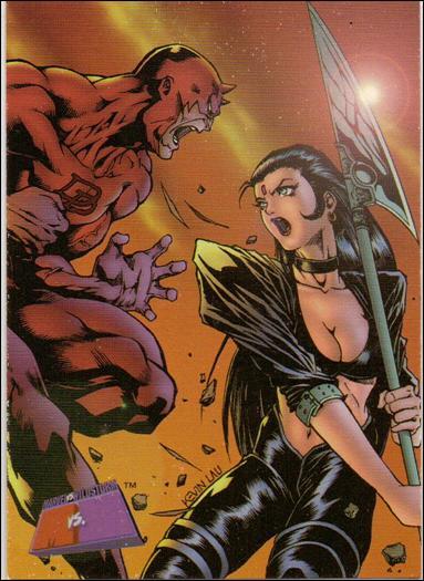 Marvel vs WildStorm (Base Set) 34-A by Fleer/SkyBox