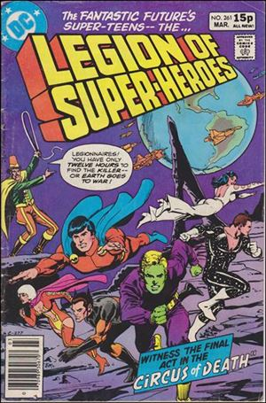 Legion of Super-Heroes (1980) 261-C