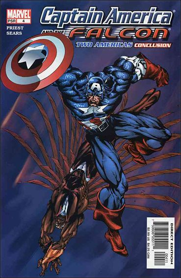 Captain America & The Falcon 4-A by Marvel