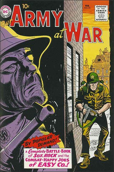 Our Army At War (1952) 91-A by DC