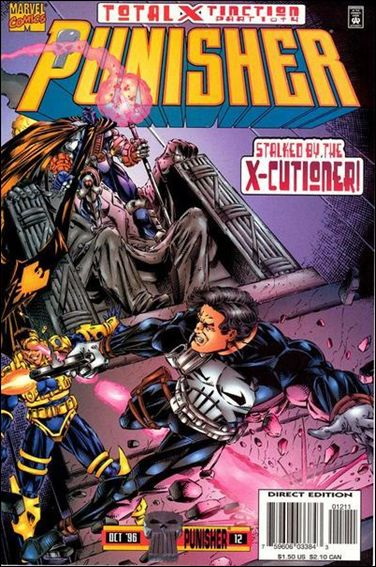 Punisher (1995) 12-A by Marvel