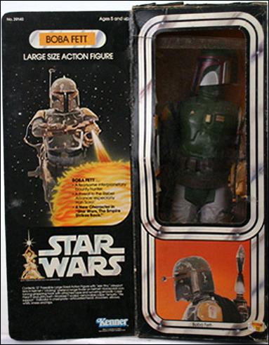 "Star Wars: 12"" Basic Action Figures (Vintage) Boba Fett (Star Wars Packaging) by Kenner"