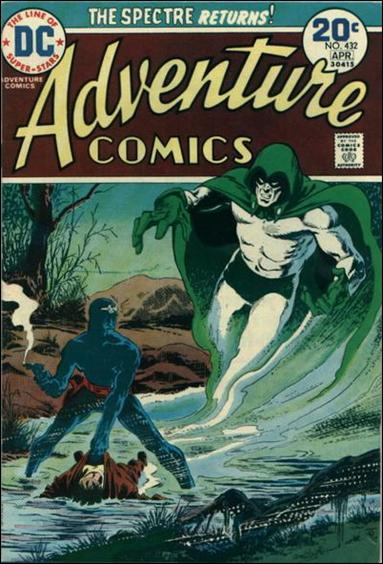 Adventure Comics (1938) 432-A by DC