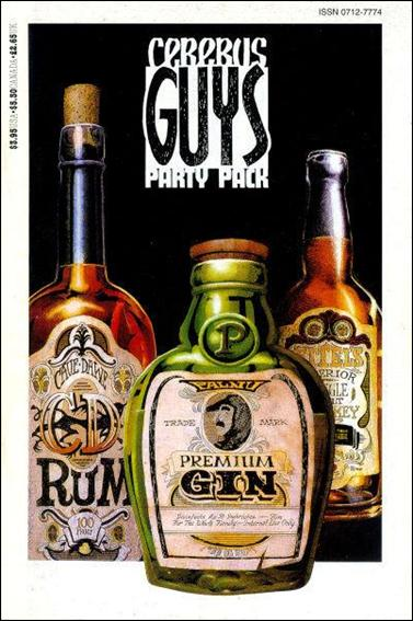 Cerebus: Guys Party Pack 1-A by Aardvark-Vanaheim
