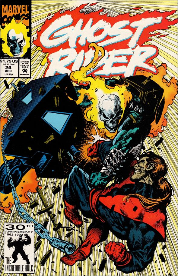 Ghost Rider (1990) 24-A by Marvel