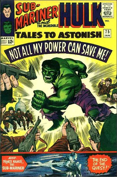 Tales to Astonish (1959) 75-A by Marvel
