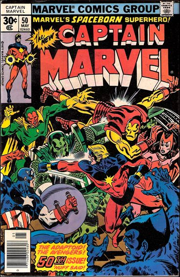 Captain Marvel (1968) 50-A by Marvel