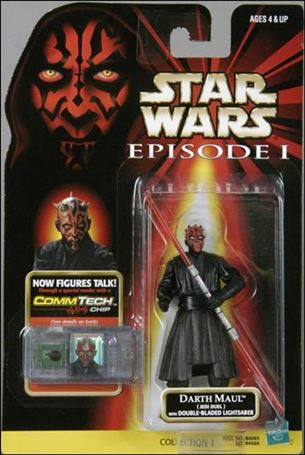 "Star Wars: Episode I 3 3/4"" Basic Action Figures Darth Maul (Jedi Duel) (No Logos)"