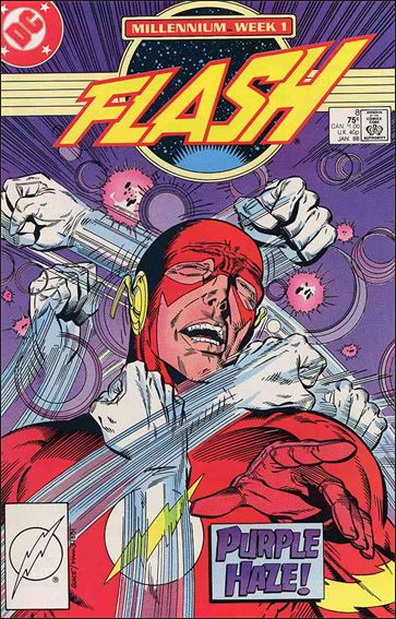 Flash (1987) 8-A by DC