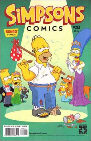 Simpsons Comics 213-A