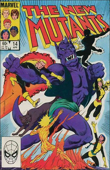 New Mutants (1983) 14-A by Marvel