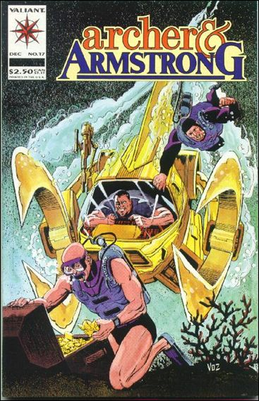 Archer & Armstrong (1992) 17-A by Valiant