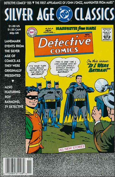 DC Silver Age Classics Detective Comics 225-A by DC