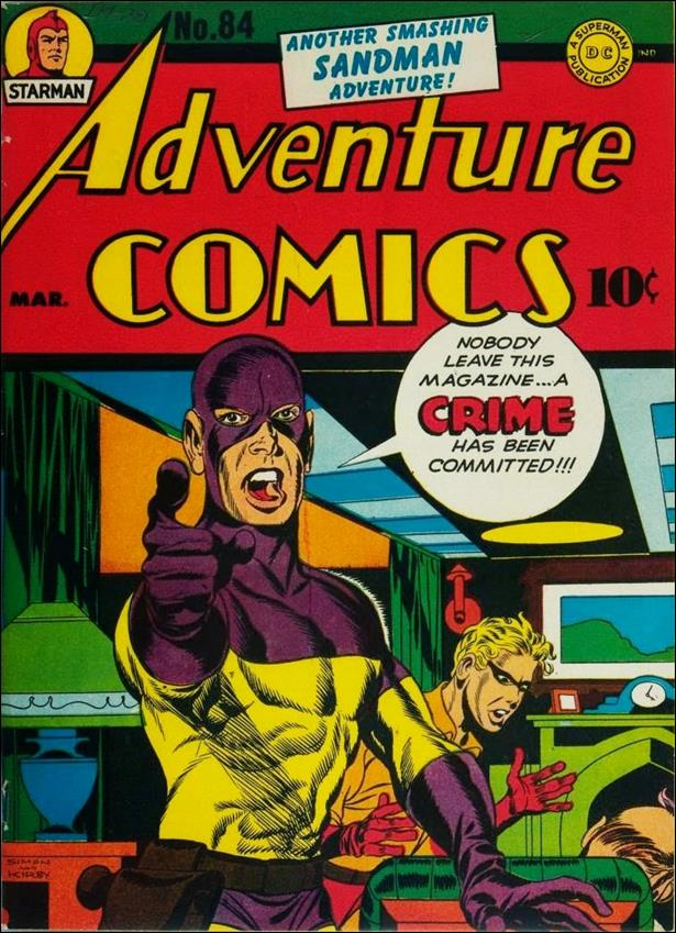 Adventure Comics (1938) 84-A by DC