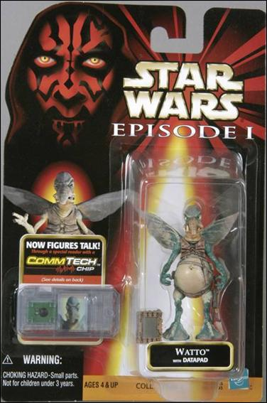 "Star Wars: Episode I 3 3/4"" Basic Action Figures Watto (No Logos) by Hasbro"
