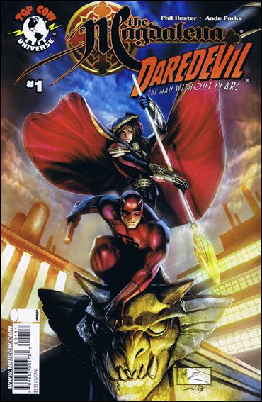 Magdalena/Daredevil 1-A by Top Cow
