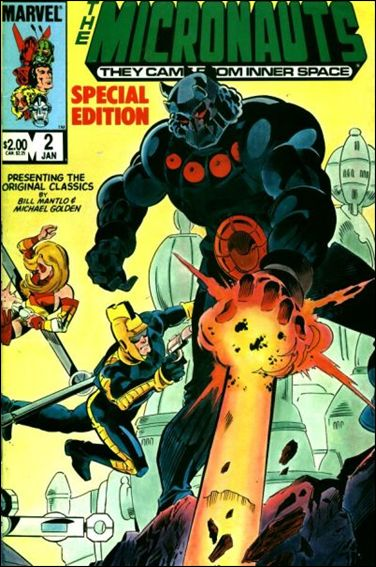 Micronauts: Special Edition 2-A by Marvel