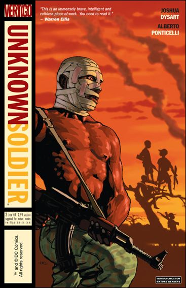 Unknown Soldier (2008) 2-A by Vertigo