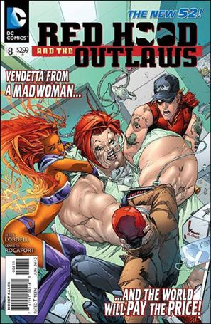 Red Hood and the Outlaws  8-A