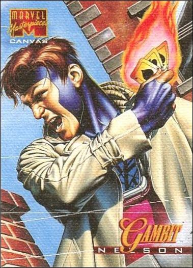 1995 Marvel Masterpieces (Canvas Subset) 7-A by Fleer