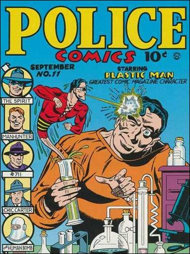 Police Comics 11-A by Comic Magazines