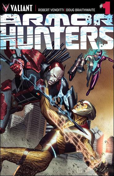 Armor Hunters 1-A by Valiant Entertainment