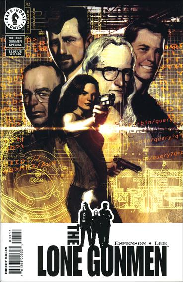 Lone Gunmen 1-A by Dark Horse