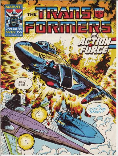 Transformers (UK) 172-A by Marvel UK
