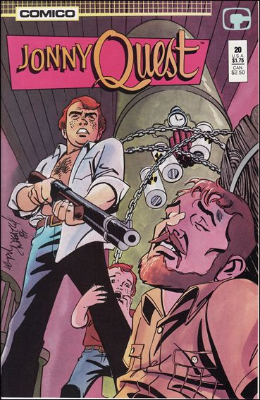 Jonny Quest (1986) 20-A by Comico