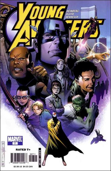 Young Avengers (2005) 7-A by Marvel