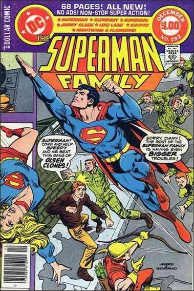 Superman Family 192-A by DC