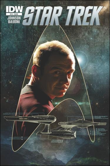 Star Trek (2011) 19-A by IDW