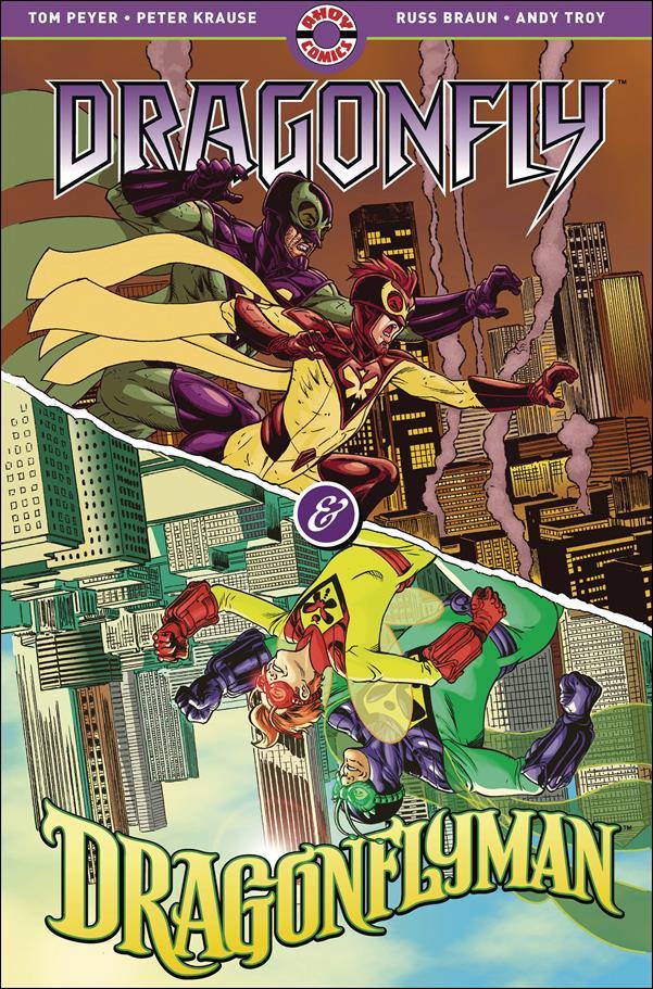 Dragonfly & Dragonflyman 1-A by Ahoy Comics