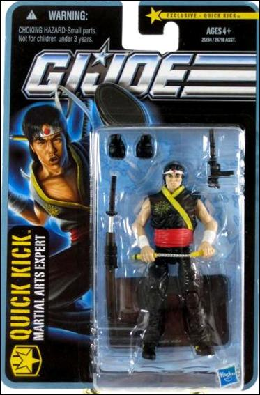 "G.I. Joe: The Pursuit of Cobra (Exclusives) Quick Kick (Martial Arts Expert) ""City Strike"" by Hasbro"