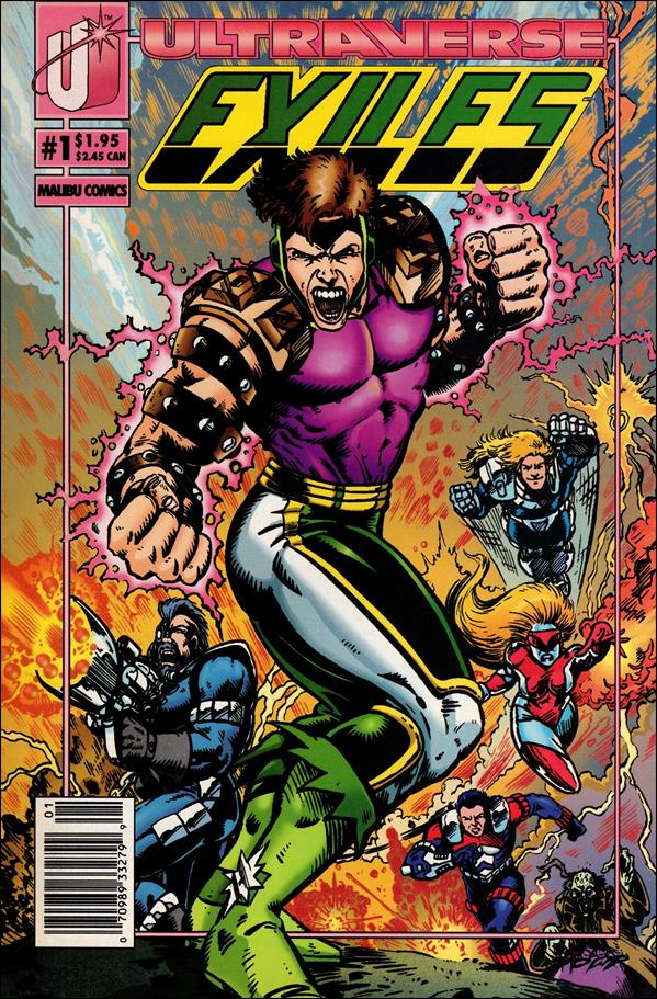 Exiles (1993) 1-A by Malibu